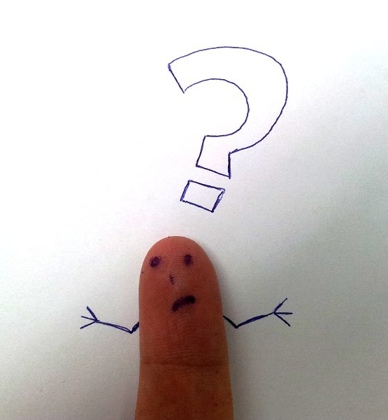 Finger face with a question (adapted) (Image by Tsahi Levent-Levi [CC BY 2.0] via Flickr)