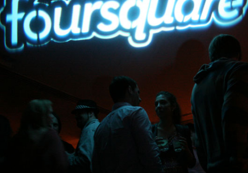 Foursquare Day NYC - Official Party (adapted) (Image by Vadim Lavrusik [ CC BY 2.0] via Flickr)