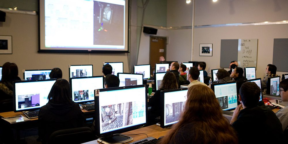 Game Design Open House (adapted) (Image by Vancouver Film School [CC BY 2.0] via Flickr)