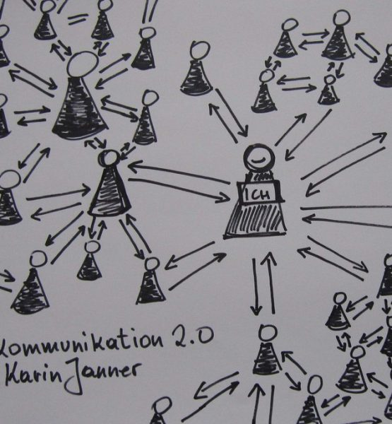 Kommunikation 2.0 (adapted) (Image by karinjanner [CC BY 2.0], via flickr)