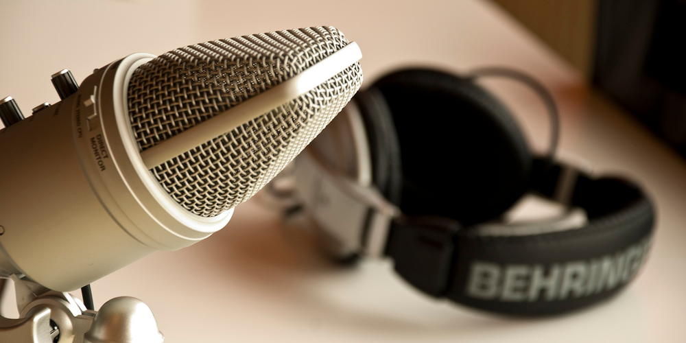 My Podcast Set I (adapted) (Image by Patrick Breitenbach [CC BY 2.0] via Flickr)