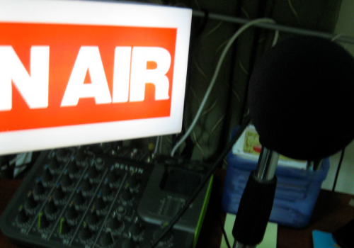 On Air (adapted) (Image by Thomas Wanhoff [CC BY-SA 2.0] via Flickr)