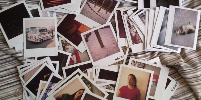 Polaroids (adapted) (Image by Louise McLaren [CC BY 2.0] via Flickr)