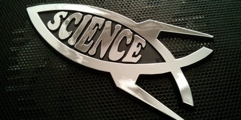 Science Fish (adapted) (Image by Steve Rainwater [CC BY SA 2.0], via flickr)