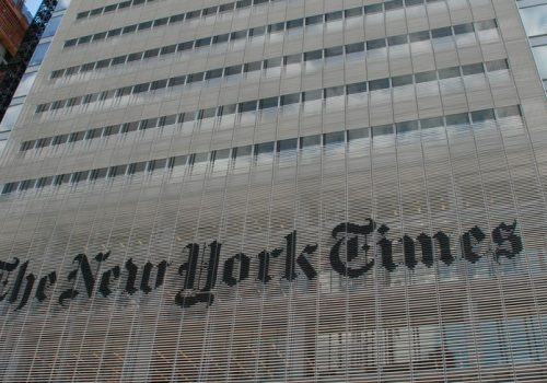 The New York Times (adapted) (Image by Joe Shablotnik [CC BY 2.0], via flickr)