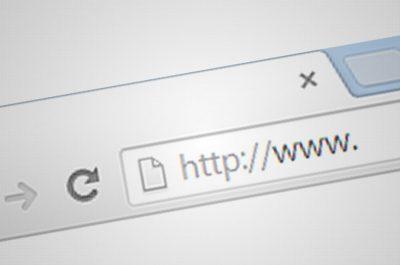 Website address-URL bar (adapted) (Image by Descrier [CC BY 2.0] via Flickr)