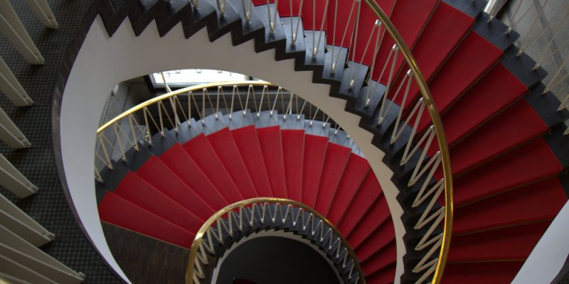 Wendeltreppe 1 (adapted) (Image by Sasan Seyfi [CC BY-SA 2.0] via Flickr)