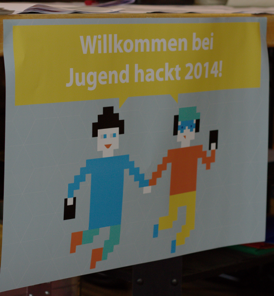 Willkommen bei Jugend Hackt 2014 (adapted) (Image by Open Knowledge Foundation Deutschland [CC BY 2.0] via Flickr)