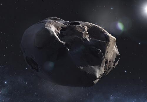Ziel einer langen Reise: der Komet 67P/Churyumov-Gerasimenko (adapted) (Image by DLR German Aerospace Center [CC BY 2.0] via Flickr)
