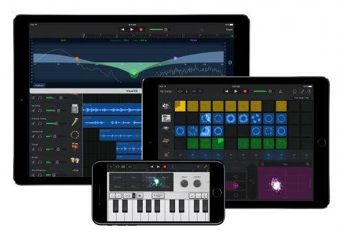 Image (adapted) GarageBand by Apple