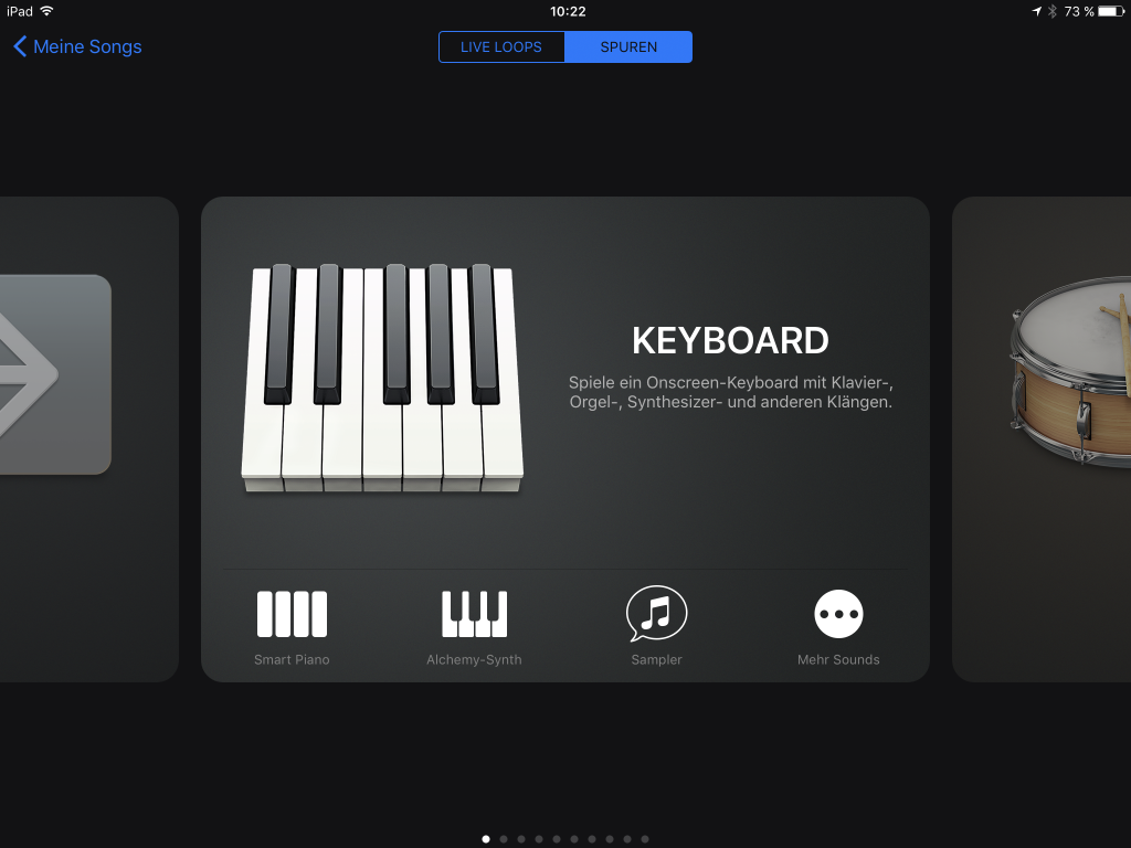 Image (adapted) keyboard-GarageBand by Apple