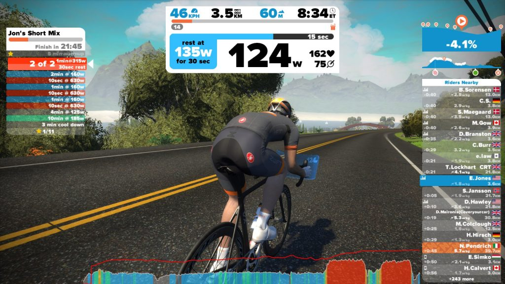 Workout Zwift
