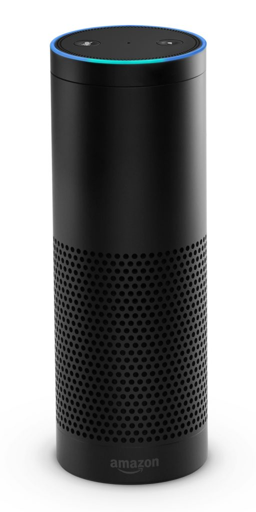 Amazon-Echo-Black (adapted) (Image by Amazon)