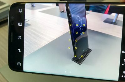 Samsung Galaxy S8 Plus Test Androidpiloten (adapted) (Image by Anton Knoblach and Julia Froolyks)