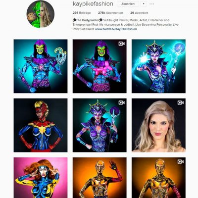 kaypikefashion Instagram (adapted) (Screenshot by Lisa Kneidl via Instagram)