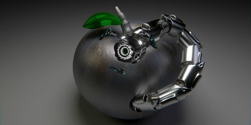 robot (adapted) (Image by DirtyOpi [CC0 Public Domain] via Pixabay)