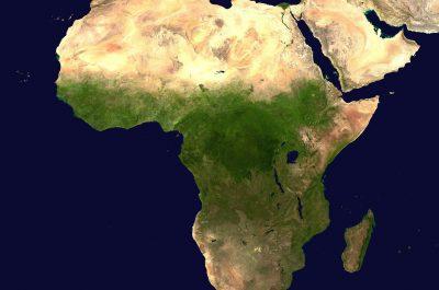 Afrika (adapted) (Image by WikiImages [CC0 Public Domain] via pixabay)