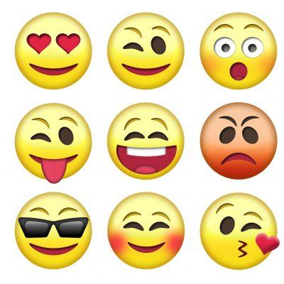 Emoji (adapted) (Image by TeroVesalainen [CC0 Public Domain] via pixabay