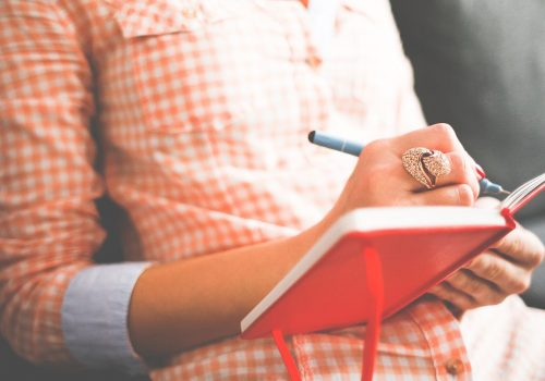Schreiben (adapted) (image by picjumbo_com [CC09 via pixabay)