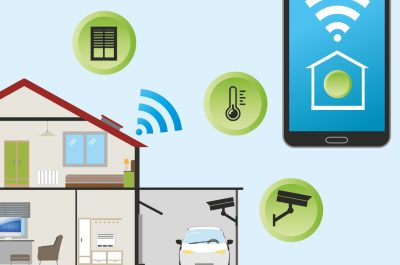 Smart Home (adapted) (Image by Pixaline [CC0 Public Domain] via pixabay