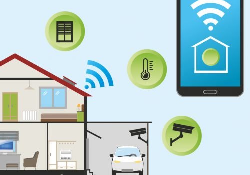 Smart Home (adapted) (Image by Pixaline [CC0 Public Domain] via pixabay