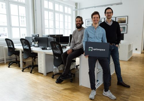 Das optionspace-Gründerteam (Image by optionspace)