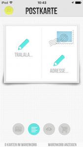 3 Bild Postkarten-Apps