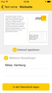4 Postkarten-Apps
