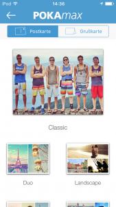 6 Postkarten-App