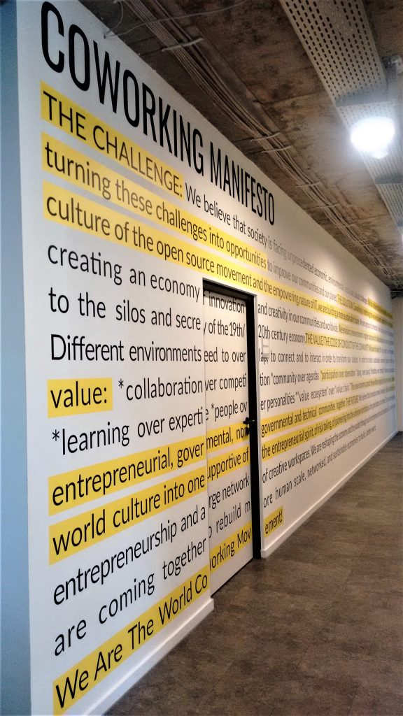 Coworking Manifest (Image by Marinela Potor)