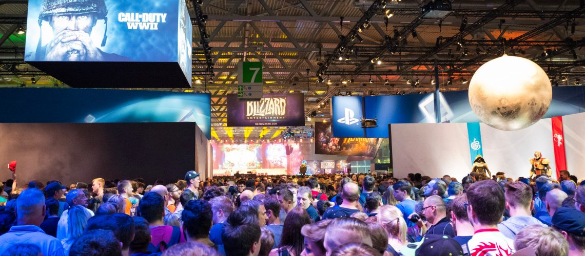 Gamescom 2017 (adapted) (Image by Sergey Galyonkin [CC BY-SA 2.0] via Flickr