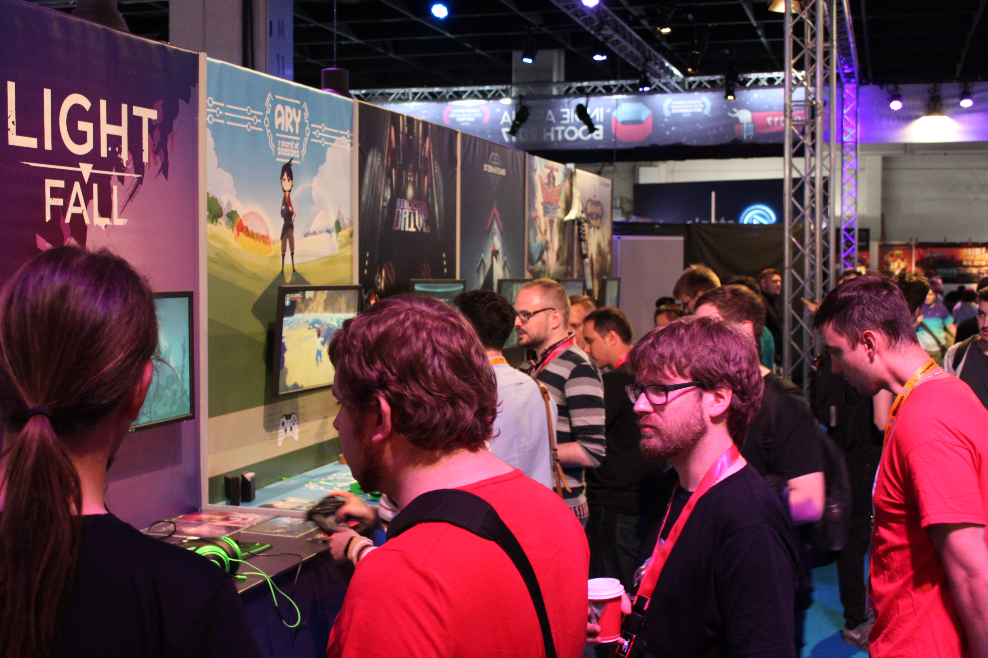 Gamescom_Indie Arena Booth