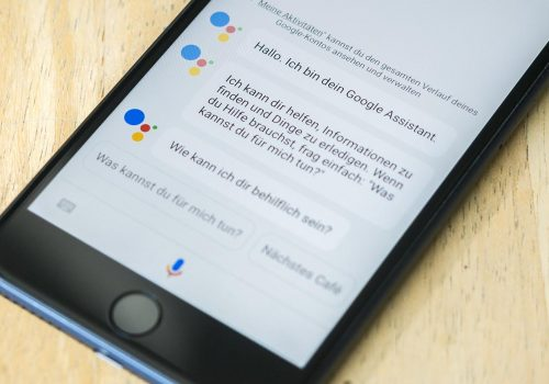 Google-Assistant-ios-iphone-7-Plus (Image by Berti Kolbow-Lehrardt)