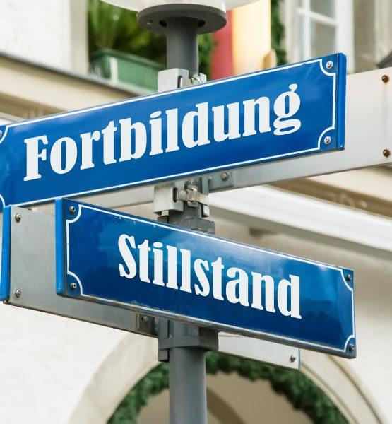 Schild 190 - Fortbildung (adapted) (Image by Thomas Reimer via Adobe Stock)