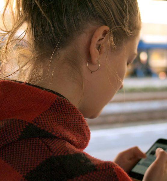 Woman with Smartphone (adapted) (Image by Daria Nepriakhina) (CC0 Public Domain) via Unsplash
