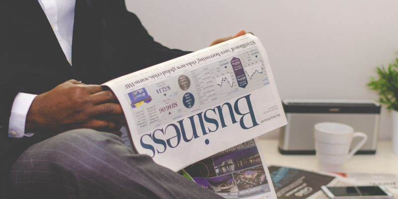 Zeitung (adapted) (image by Free-Photos [CC0] via pixabay)