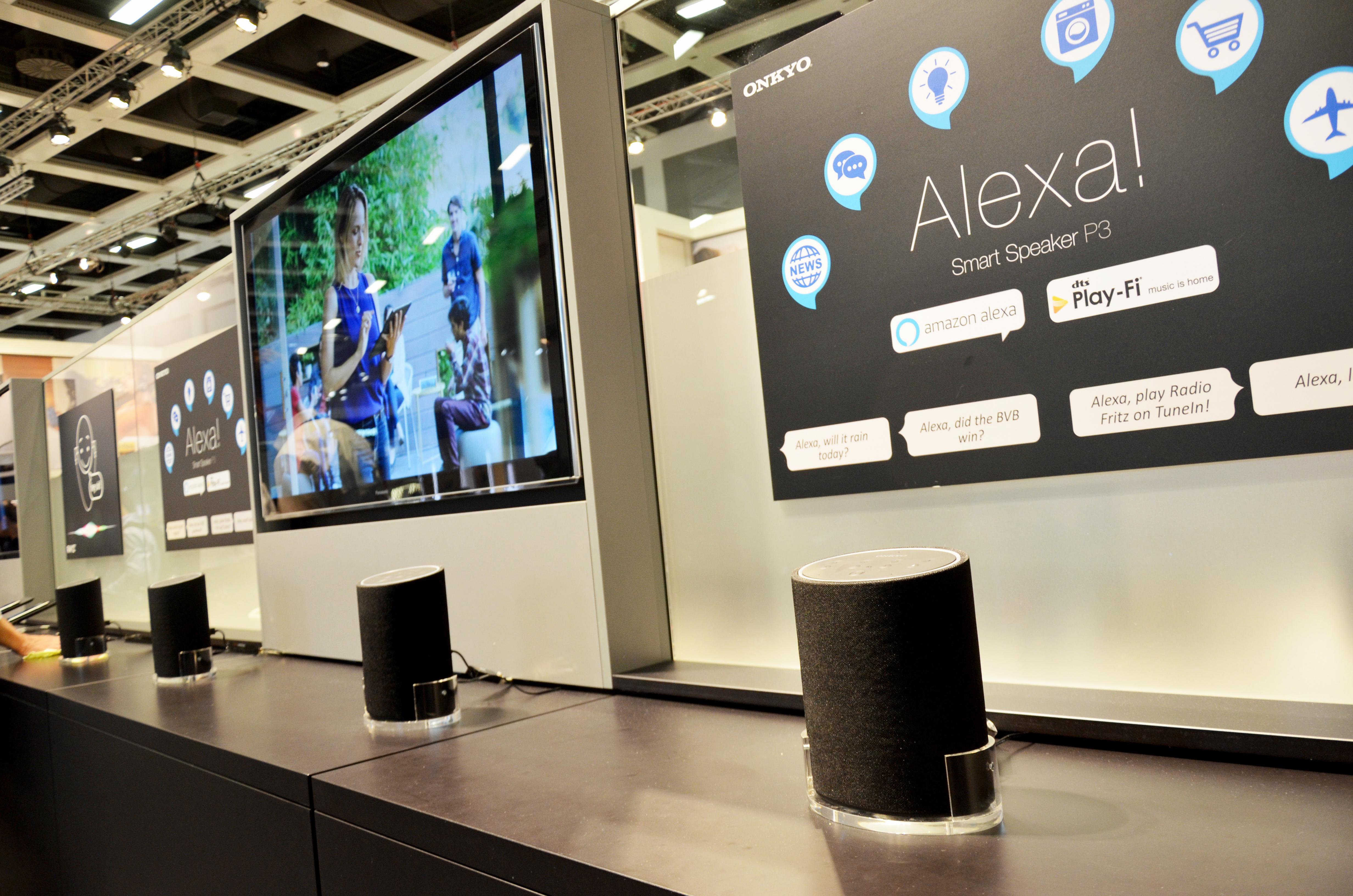IFA-2017-Onkyo-Speaker-Amazon-Alexa
