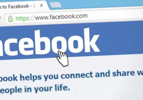 Facebook (adapted) (Image by Simon [CC0 Public Domain] via Pixabay)