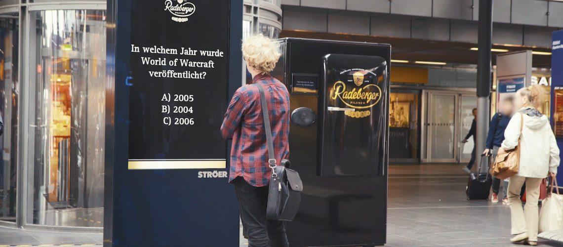 Radeberger Pilsner Adverorial Kühlschrank