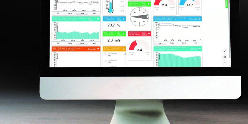 Conrad Connect Oberfläche auf Mac und iPad