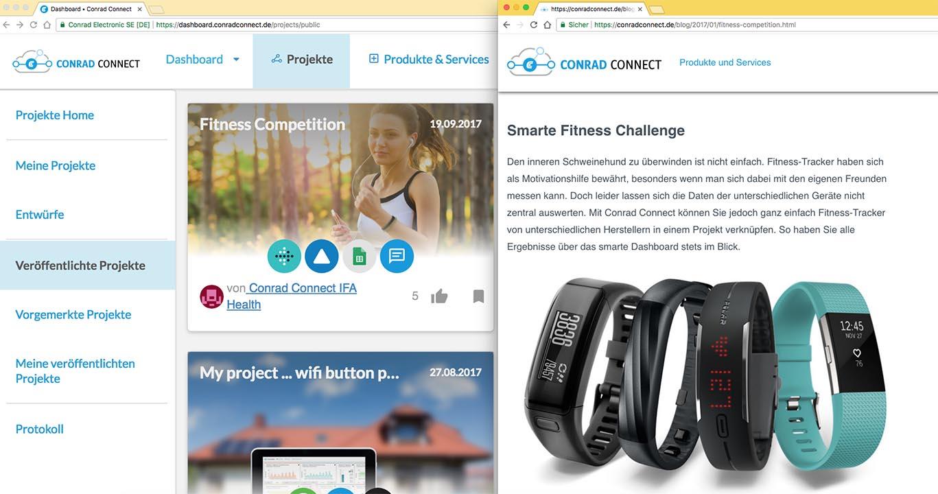 Conrad Connect Smarte Fitness-Challenge