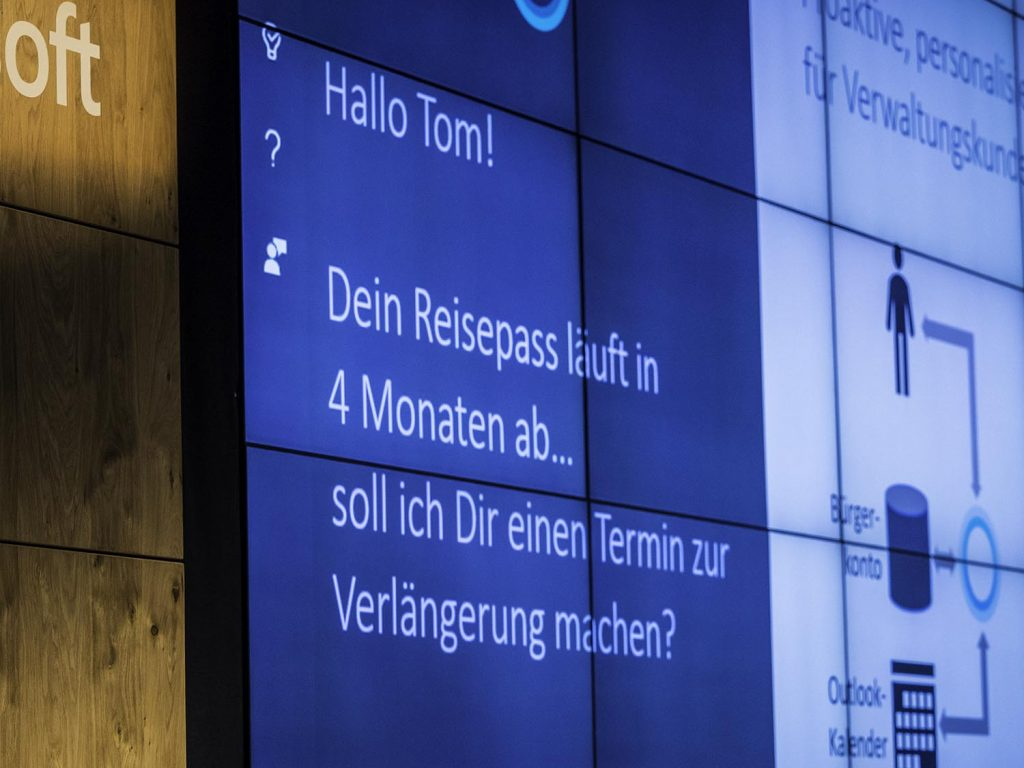 KI Verwaltung Cortana Microsoft Explained