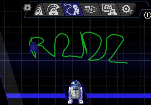 R2D2 Route fahren