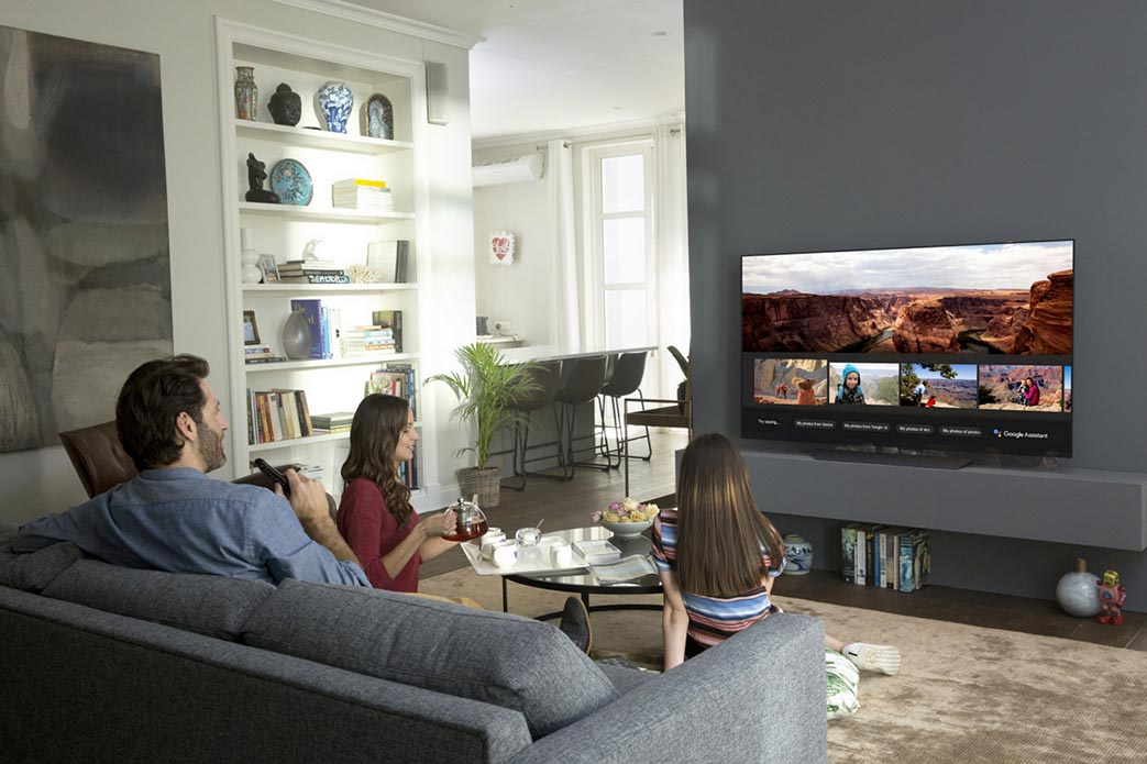 LG Smart TV Google Assistant