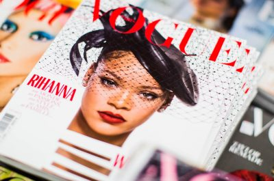 Magazine, vogue, magazine cover and rihanna (adapted) (Image by Charisse Kenion [CC0 Public Domain] via Unsplash)