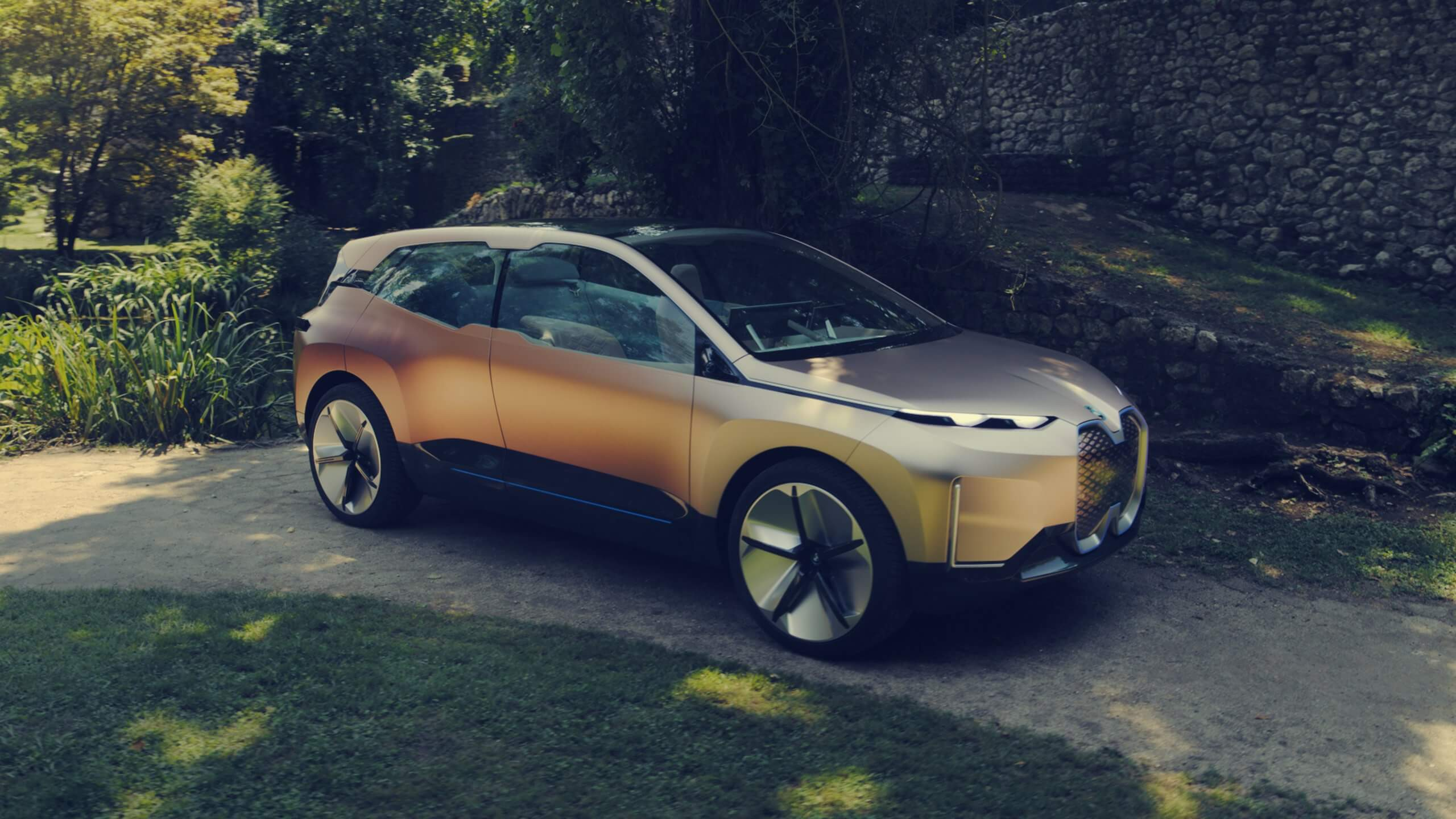 Pressebild des BMW iNext / Image by BMW