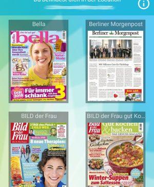 Sharemagazines Zeitschriftenauswahl (Screenshot by Jennifer Eilitz)