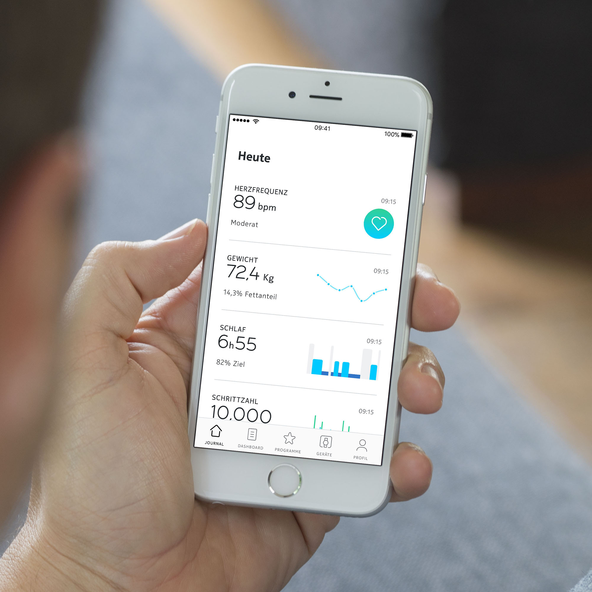 Withings Health Mate App