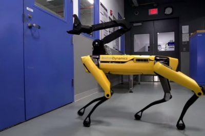 Boston Dynamics Spot Mini (Screenshot by Lisa Kneidl)