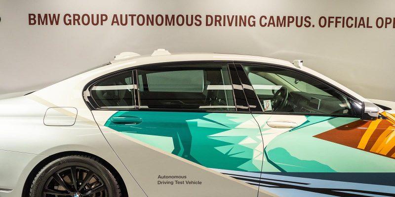 BMW-Testzentrum für autonomes Fahren